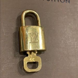 Louis Vuitton Padlock 🔐 With Key #315